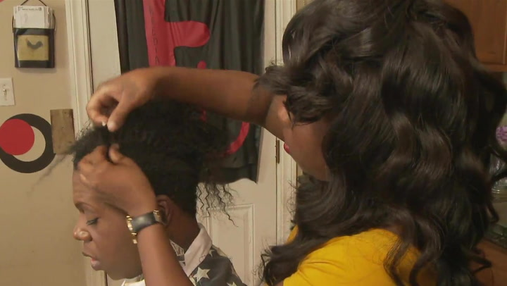 Freedia Gets Her Hair Done
