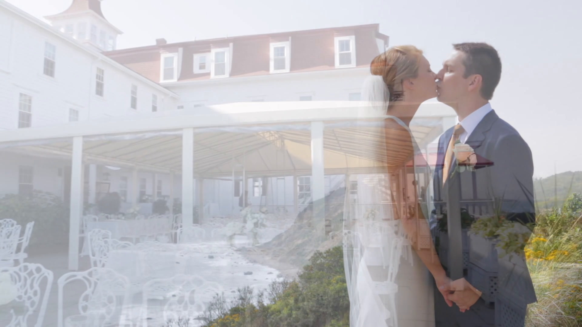 Jillian + Colin | New Shoreham, Rhode Island | The Spring House