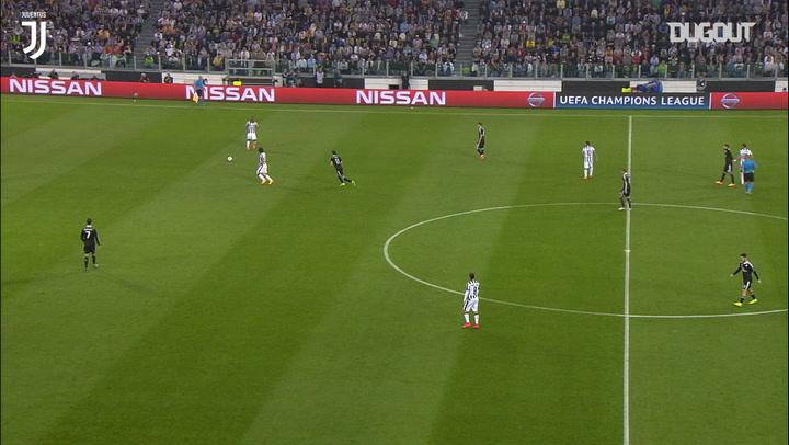 Álvaro Morata finaliza una gran jugada en equipo ante el Real Madrid