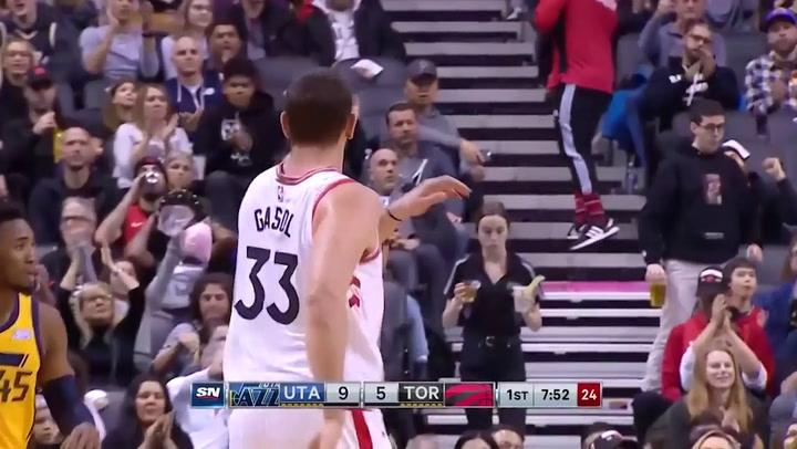 Pascal Siakam (Raptors), el más destacado de la jornada de la NBA