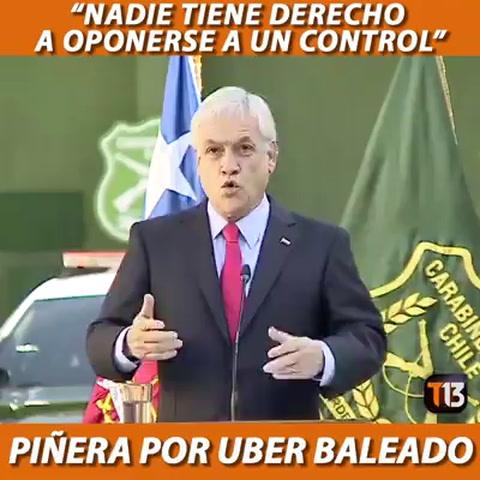 El impactante video que divide a Chile: un carabinero baleó a un conductor de Uber que se resistió a su identificación