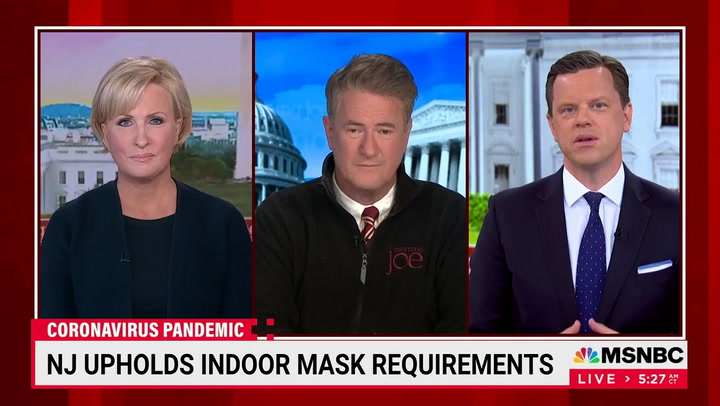 Brzezinski: 'If You Want to Follow the Science' There Are Times You Need to Wear a Mask After Being Vaccinated