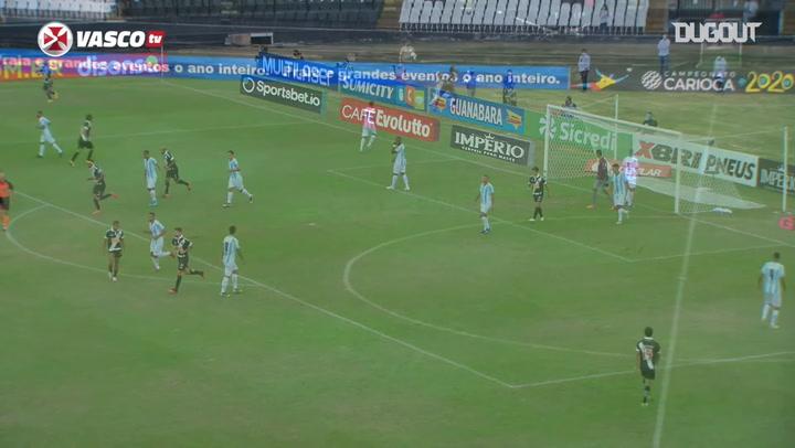 Vasco beat Macaé in their 2020 State Championship return