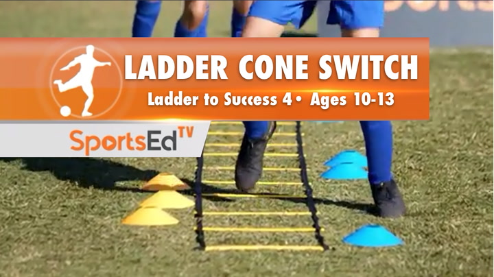 LADDER CONE SWITCH - Ladder To Success 4 •Ages 10-13