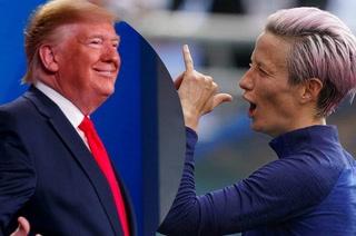 Megan Rapinoe vuelve a atacar a Donald Trump: