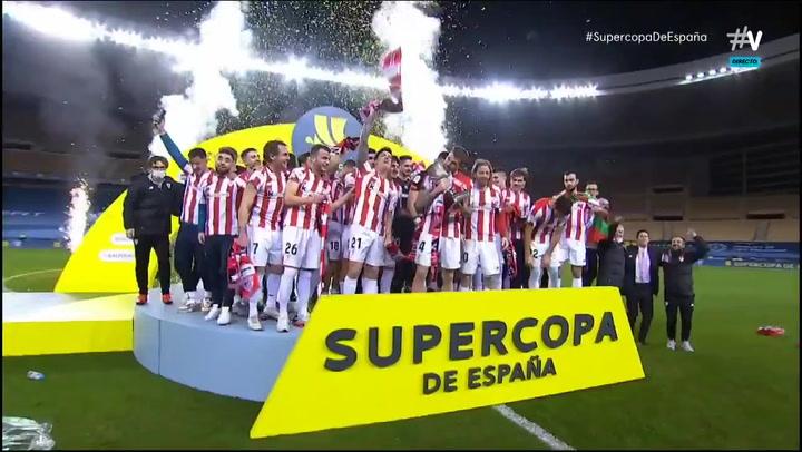 El Athletic Club, campeón de la Supercopa