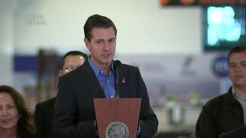 Presidente de México y antecesor, acusados por defensa del Chapo