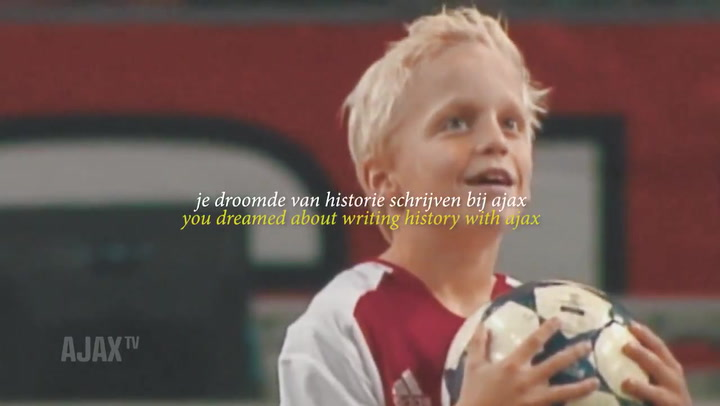 Así motiva el Ajax a sus jugadores