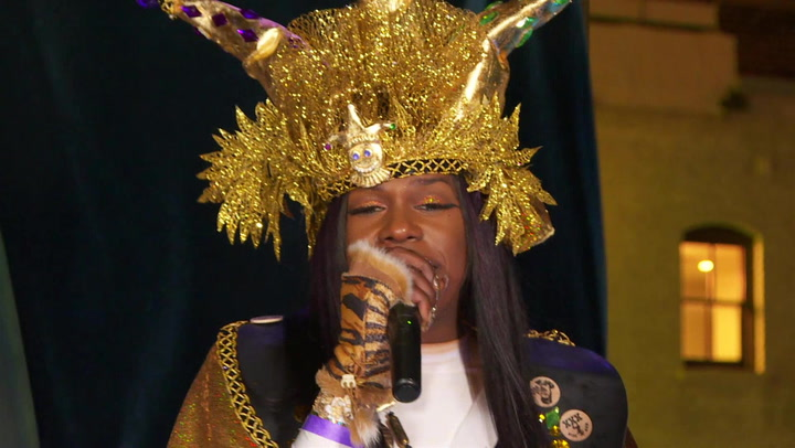 "Freedia Performs ""Excuse"" At NOLA's Krewe du Vieux"