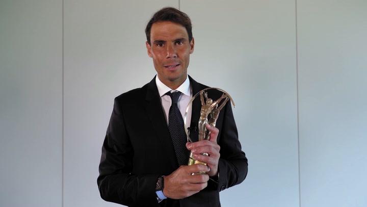 Nadal gana su cuarto Premio Laureus