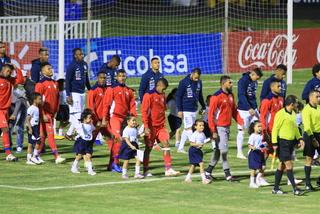 Honduras y Panamá están empatando en un vibrante juego