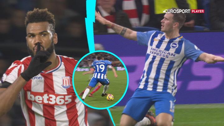 Highlights: Stoke og Brighton delte i tempofyldt opgør!