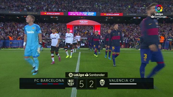 Resumen 90' FC Barcelona - Valencia CF J4