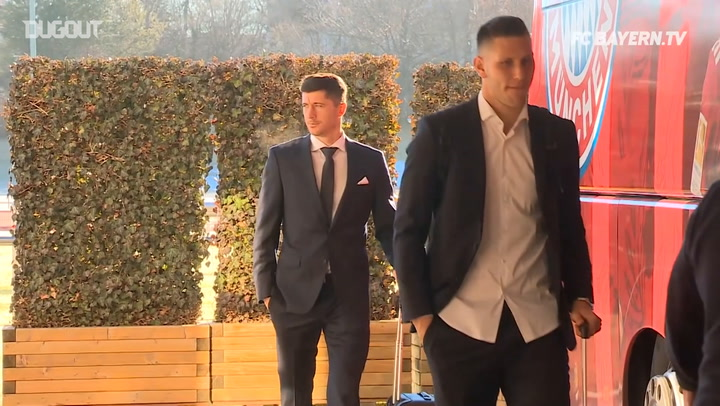 Behind The Scenes: FC Bayern Prepare To Face Liverpool