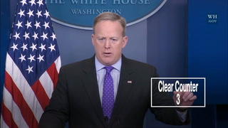 "Digital Short: Sean Spicer loves the word ""clear"""