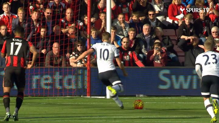 Harry Kane's goals v Bournemouth