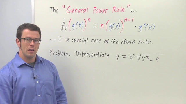 Chain Rule: The General Power Rule - Problem 2