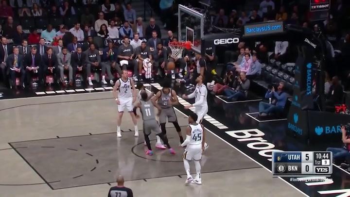 Kyrie Irving (Nets), el más destacado de la jornada de la NBA del 14 de enero 2020
