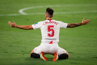 Sevilla elimina en los últimos minutos al Wolverhampton de la Europa League y avanza a semifinales