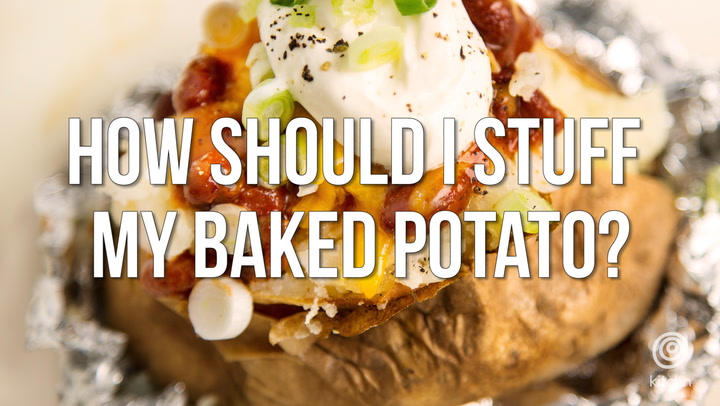 How should i stuff my baked potato video kitchn forumfinder Choice Image