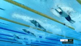 Dressel logra el oro olímpico con récord mundial en 100 m mariposa