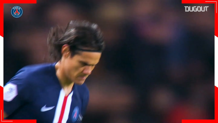 Edinson Cavani celebrates his 33rd birthday