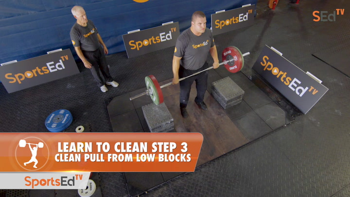 Learn To Clean - Step 3 - Clean Pull From Low Blocks