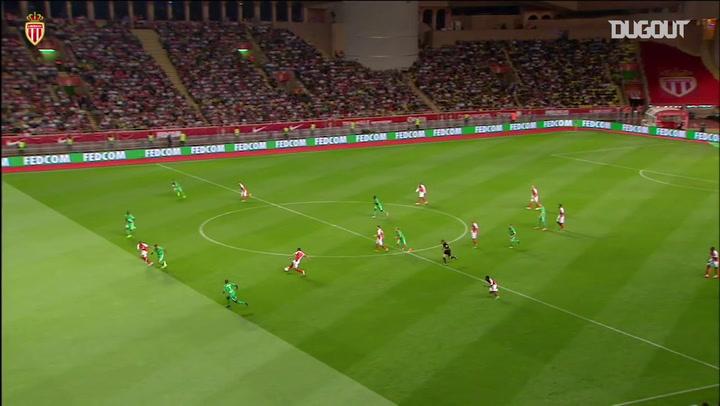 Último gol de Mbappé pelo Monaco
