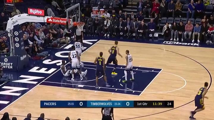 Domantas Sabonis jugador destacado de la jornada de la NBA (15/01/2019)