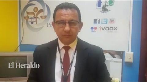 Melvin Duarte habla sobre los resultados de la reunión que sostuvo la Comisión Interinstitucional de Justicia Penal