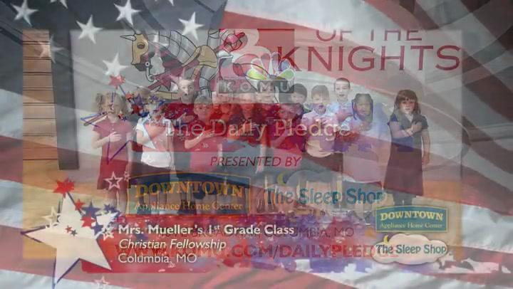 Christian Fellowship - Mrs. Mueller - 1st Grade