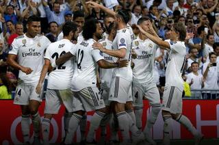 Real Madrid debuta goleando a la Roma en la Champions League