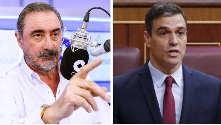 Carlos Herrera insulta a Pedro Sánchez y revoluciona las redes