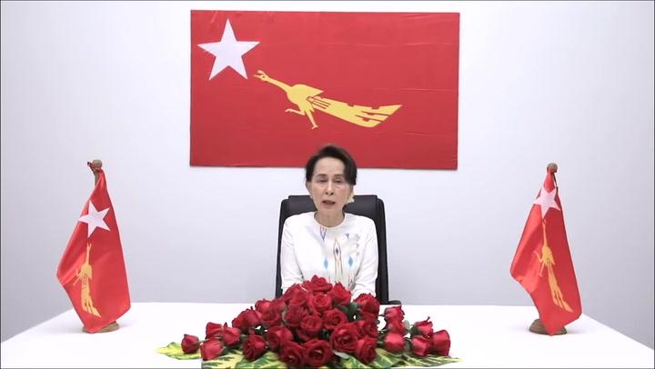 Suu Kyi condena el golpe de Estado y pide a la población que resista