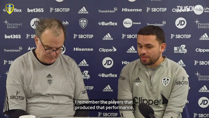 Bielsa remembers previous triumph at Old Trafford and reflects on football and artistic expressions