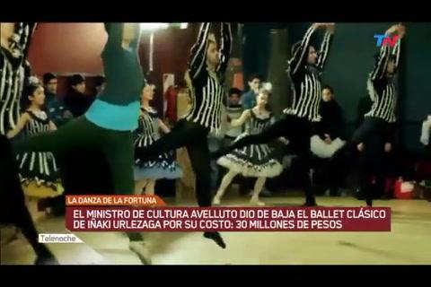 Avelluto defendió el cierre del ballet a cargo de Iñaki Urlezaga