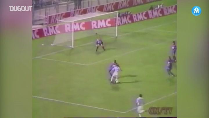 Los mejores momentos de Éric Cantona con el Olympique de Marsella