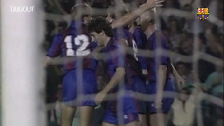 All Ronald Koeman's goals against Real Madrid - Dugout
