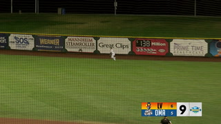 Seth Brown's double plates winning run (PCL)