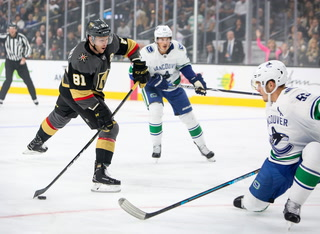 Golden Edge: Knights Fall Short to Canucks in Shootout