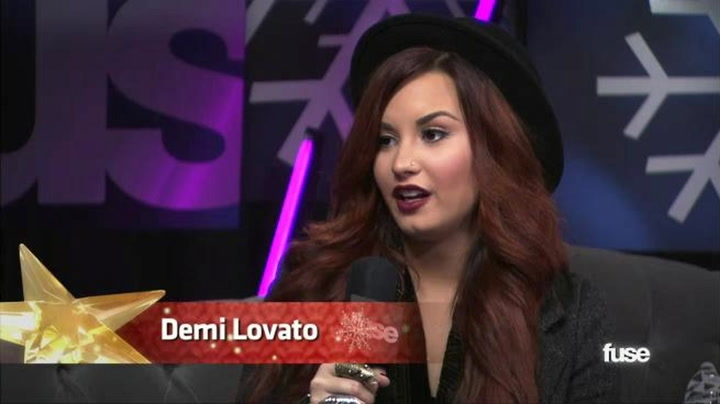 Jingle Ball: What Does Demi Lovato Think of Hot Chelle Rae? - Fuse Presents Z100's Jingle Ball 2011