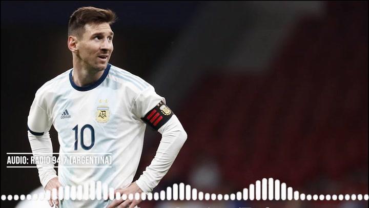 """Messi explota: """"Mi hijo me preguntó '¿por qué te matan en Argentina?'"""