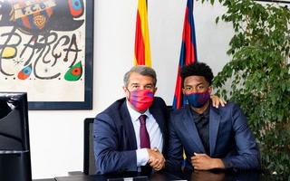Barcelona renovó hasta 2024 al relevo de Jordi Alba y le pone una cláusula astronómica