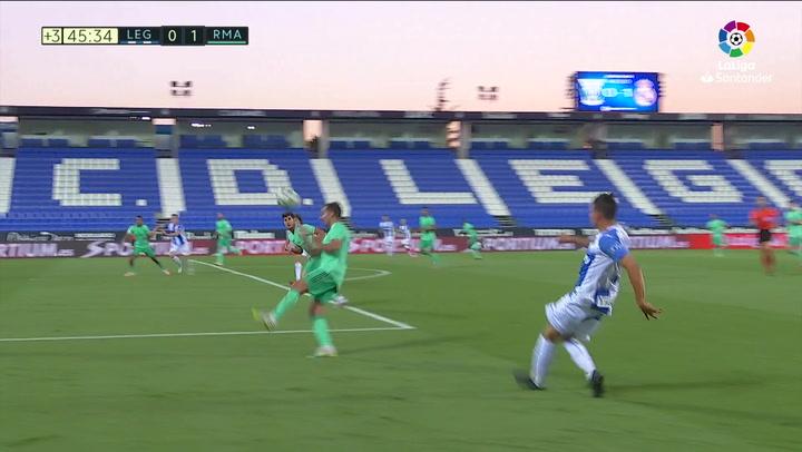 Gol de Bryan Gil (1-1) Leganés 2-2 Real Madrid
