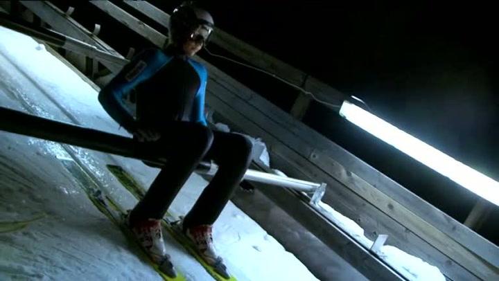 Hvordan begynne med skihopping