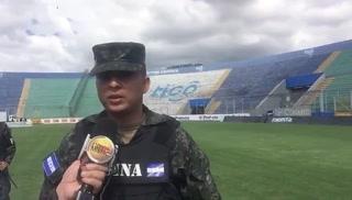 Extrema seguridad en el estadio Nacional para la Gran Final Motagua-Olimpia