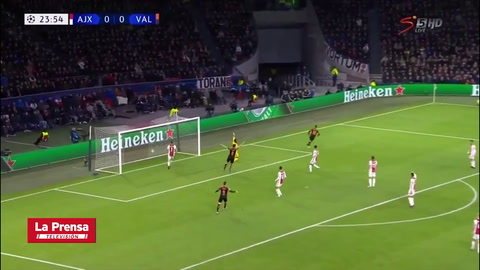 Ajax 0-1 Valencia (Champions League)