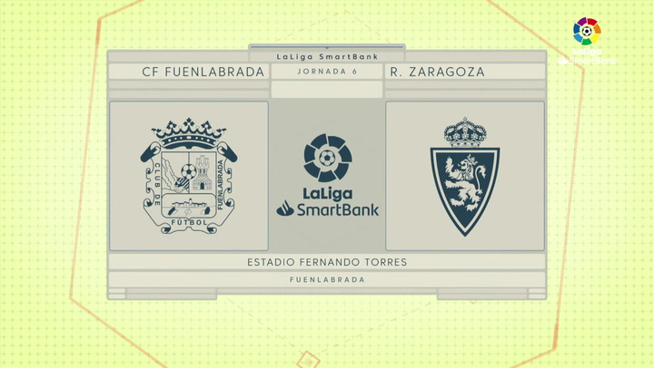 LaLiga SmartBank (J6): Resumen y goles del Fuenlabrada 2-1 Zaragoza