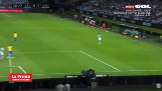 Gol del Choco con el Cadiz vs Celta de Vigo