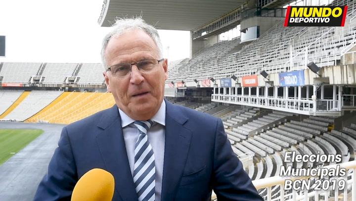 Josep Bou, candidato por El PP a la Alcaldía De Barcelona, nos explica su programa deportivo